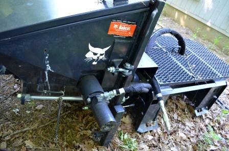 Bobcat Concrete Pump Attachment Used Connections Llc