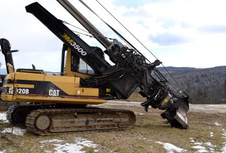 CAT 320B with Forestry Package Denharco 3500