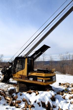 CAT 320B Stroke Delimber for sale
