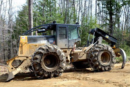 CAT 525C Grapple Skidder for Sale in NH