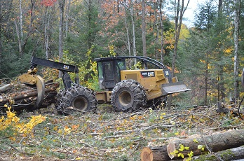 CAT 555D Skidder for Sale in NH