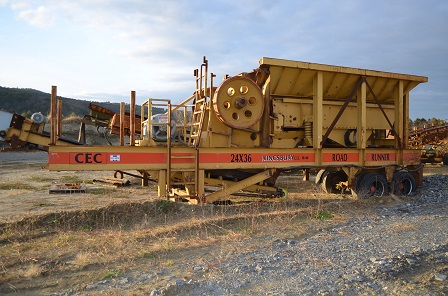 Used CEC Road Runner Jaw Crusher 4 Sale in NH