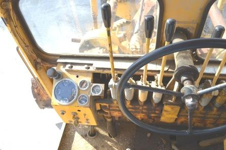 Cab Interior of Galion Grader