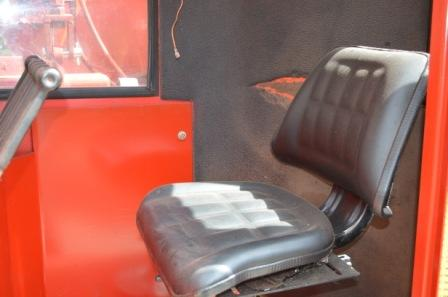 Cab Seat of Morbark 16 Chipper