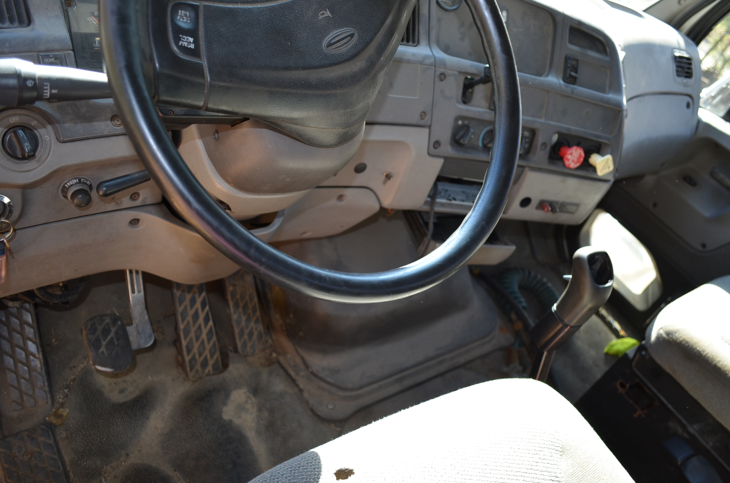 Cab interior of Ford Sterling