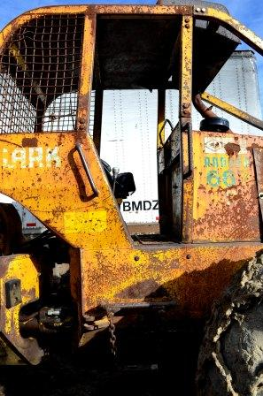 Cab of Clark 667 C Skidder