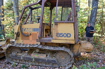 Case 850D Dozer for sale in NH
