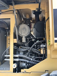 Engine Compartment of CAT 928G Loader