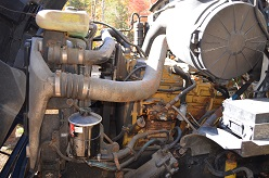 Engine of Ford Sterling Truck