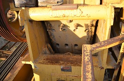 Jaw on the CEC 24x36 Jaw Crusher