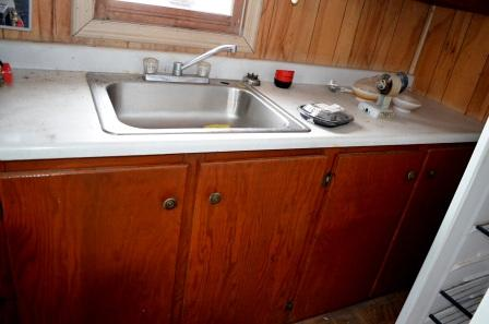 Kitchen Sink of Bunkhouse