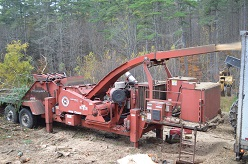 Morbark 40/36 Drum Chipper