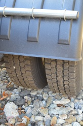 New tires on Ford Sterling Truck