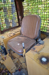 Operator Seat of Case 850D Dozer
