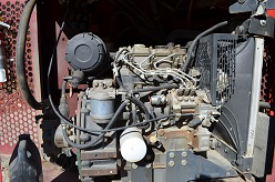 Perkins Diesel Engine in Reed-Screen-All