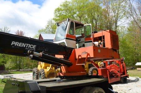 Prentice 210 B Log Crane for sale in NH