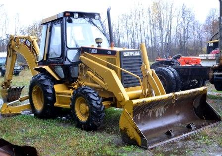 Used Cat 416 Backhoe for Sale in NH
