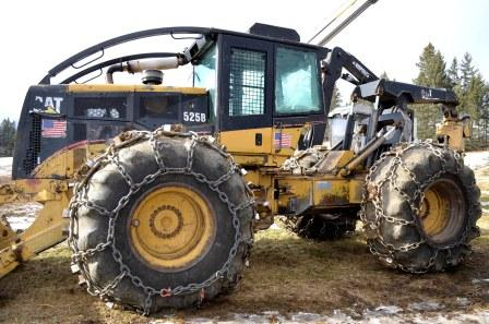 CAT 525B Grapple Skidder for sale in NH - Used Connections, LLC